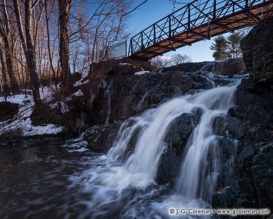 &#8220Heart of the Old Mill&#8221, Mill Pond Falls, Mill Pond Park, Newington, Connecticut