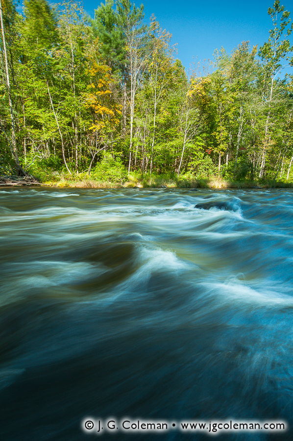&#8220Barkhamsted Rapids&#8221, Farmington River (west branch), People's State Forest, Barkhamsted, Connecticut