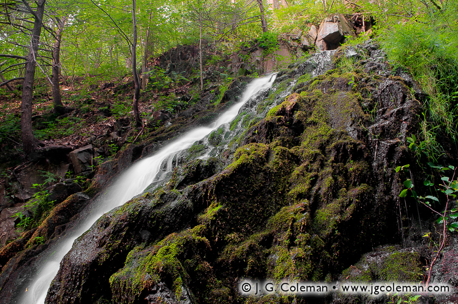 &#8220Mossy Cascades&#8221, Roaring Brook Falls, Roaring Brook Falls Park, Cheshire, Connecticut