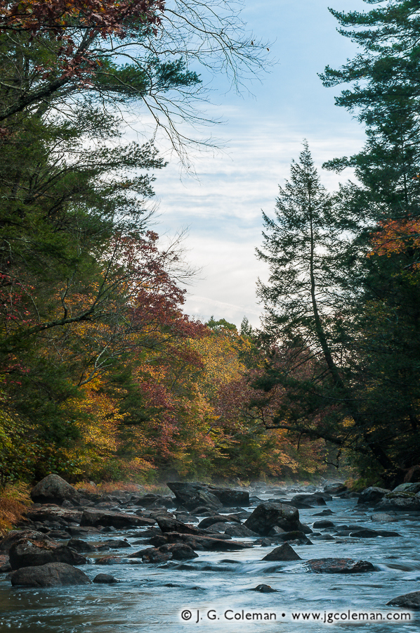 &#8220Colchester Riverscape&#8221, Salmon River, Salmon River State Forest, Colchester, Connecticut