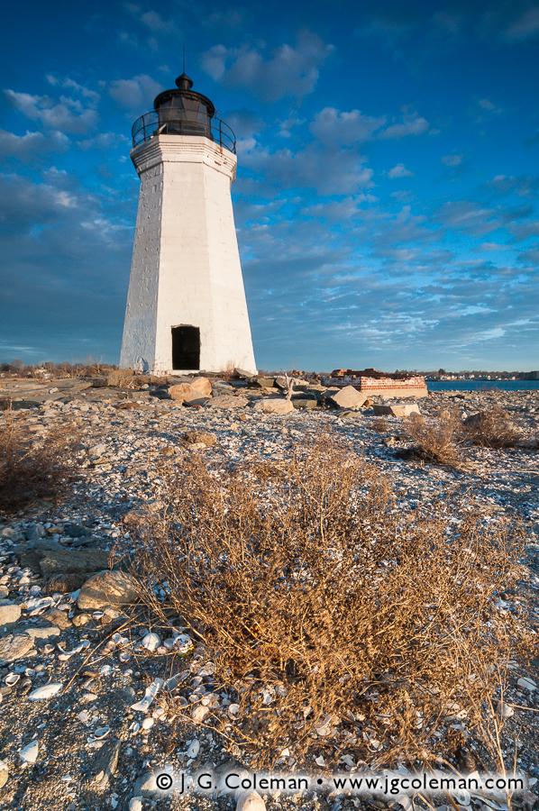 &#8220Fayweather Daybreak&#8221, Black Rock Harbor Lighthouse, Fayerweather Island, Seaside Park, Bridgeport, Connecticut