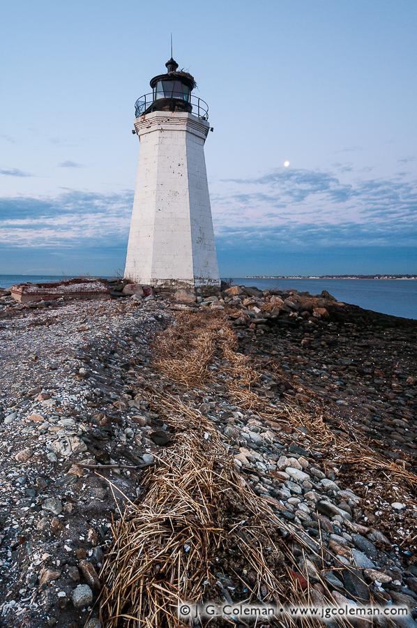 &#8220Fayerweather's Wrack&#8221, Black Rock Harbor Lighthouse, Fayerweather Island, Seaside Park, Bridgeport, Connecticut