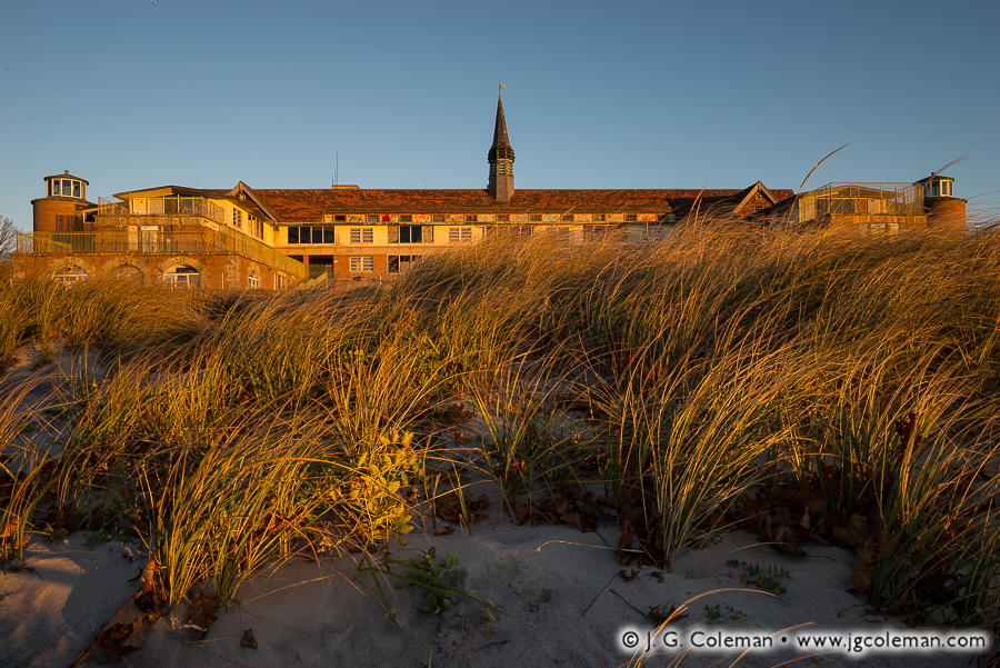 &#8220Dunes and Echoes&#8221, The Seaside Sanatorium, Seaside State Park, Waterford, Connecticut