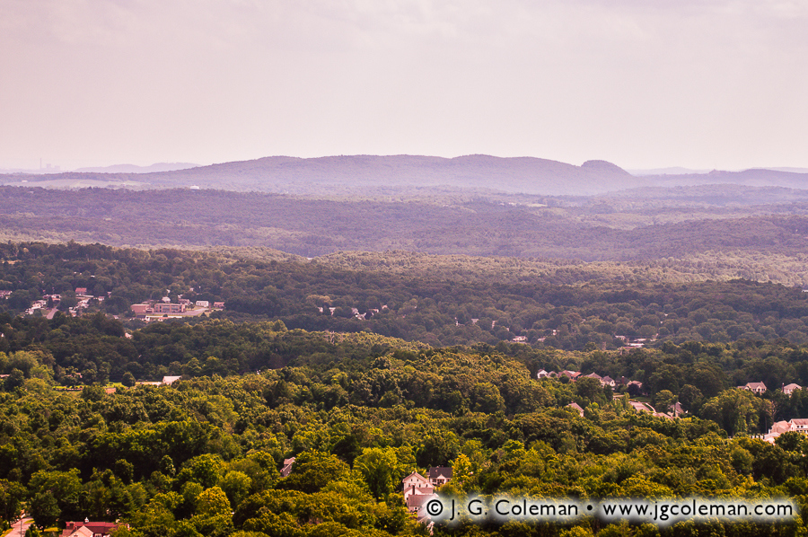 &#8220A Sleeping Giant Amongst the Hills&#8221, Sleeping Giant State Park as seen from East Peak, Hubbard Park, Meriden, Connecticut