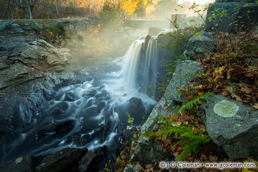 An Eightmile Rhapsody (Southford Falls State Park, Southbury, Connecticut)