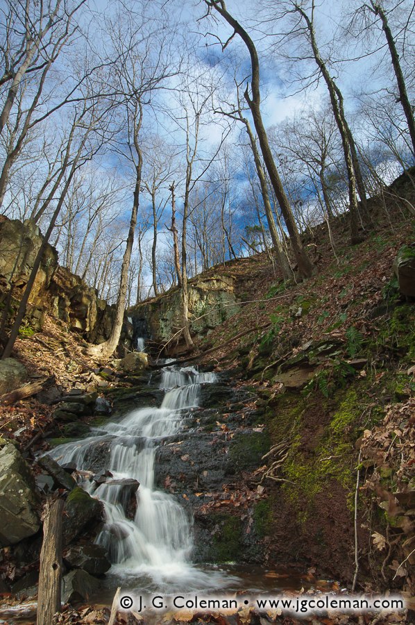 &#8220Stair Brook Cathedral&#8221, Stair Brook Falls, North Branford, Connecticut
