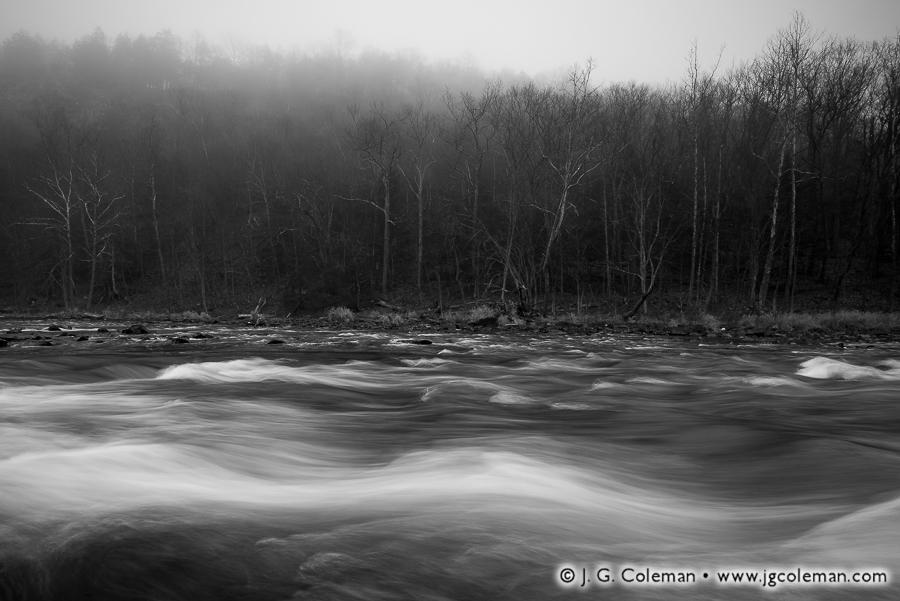 &#8220Angry Farmington&#8221, Farmington River at the Tariffville Gorge, Simsbury & East Granby, Connecticut
