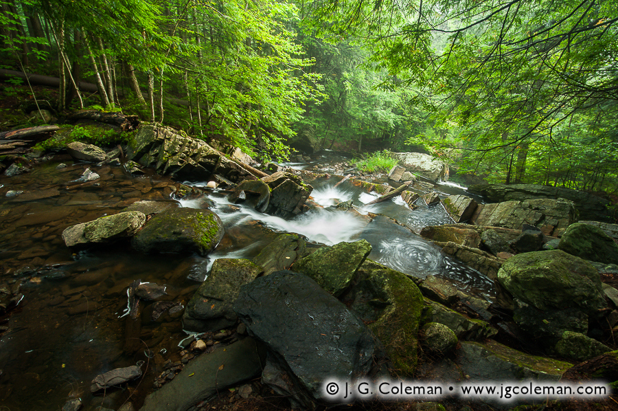 &#8220Green Mountain Riverscape&#8221, Thundering Brook, Killington, Vermont