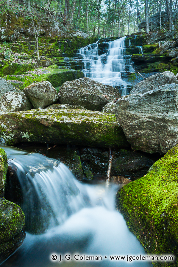 &#8220Hartland Waters&#8221, Falls Brook Falls, Falls Brook, Tunxis State Forest, Hartland, Connecticut