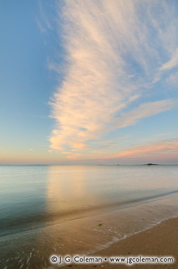 &#8220Pastel Dawn Over Westbrook Harbor&#8221, West Beach, Westbrook, Connecticut