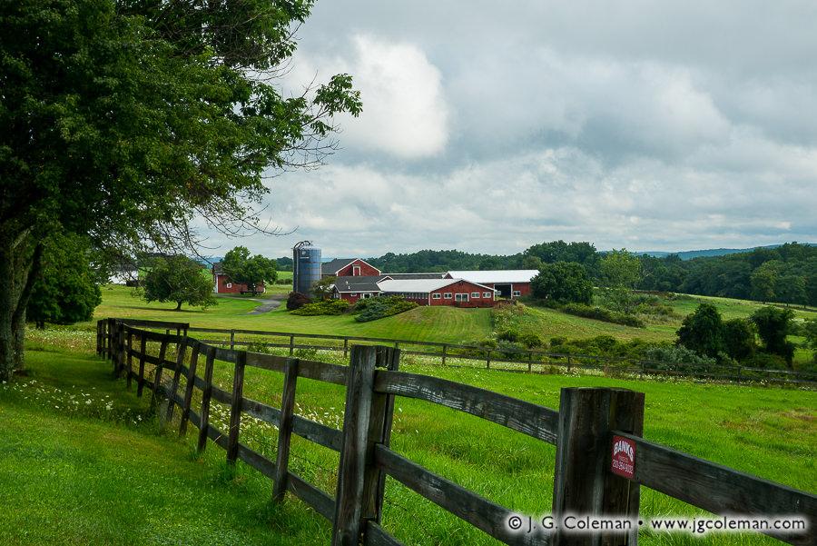 &#8220Yankee Farmlands № 78&#8221, Bridgewater, Connecticut