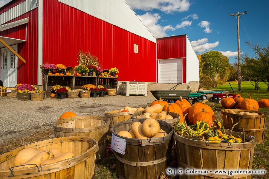 Yankee Farmlands № 90 (Farm stand in Eastford, Connecticut)