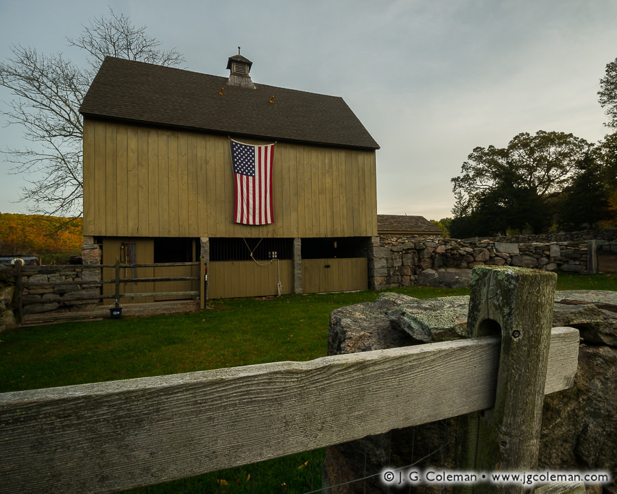 &#8220Yankee Farmlands № 94&#8221, Stonington, Connecticut