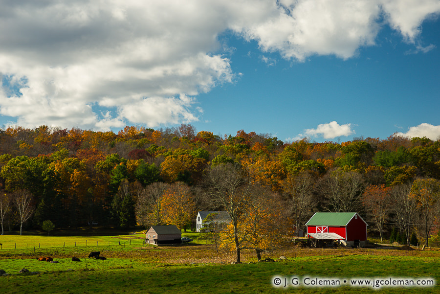 &#8220Yankee Farmlands № 91&#8221, Willington, Connecticut