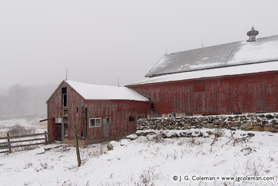 &#8220Yankee Farmlands № 19&#8221, Plymouth, Connecticut, USA
