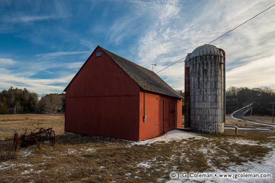 &#8220Yankee Farmlands № 48&#8221, Colebrook, Connecticut