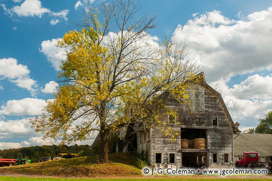 &#8220Yankee Farmlands № 9&#8221, East Granby, Connecticut